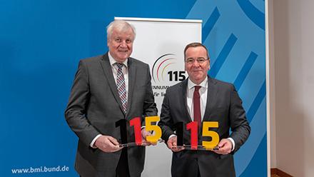 115-Verbund hat Zuwachs erhalten: Niedersachsen tritt bei.