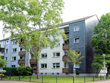 Pilotprojekt in der Wohnsiedlung in Oberhausen-Barmingholten: Maximierter Deckungsgrad des Wärmebedarfs bei zeitlich optimierter Stromproduktion.