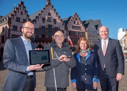 Die Beteiligungs-App der Stadt Frankfurt am Main ist jetzt barrierefrei.