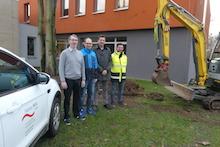 Die Ludwig-Geißler-Schule in Hanau erhält eine Glasfaser-Infrastruktur.