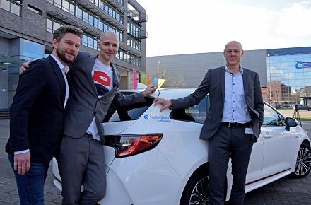 Partner bei Stadtteilauto: Frederick Koddenberg, Till Ammann und Frank Gäfgen (v. l.).