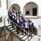 Die 15 Mitglieder des Fachbeirats bei ihrem ersten Treffen im Rathaus Ulm (rechts außen: Oberbürgermeister Gunter Czisch).