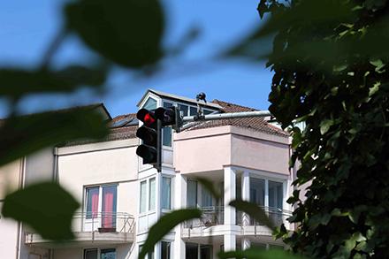 Insgesamt 16 Messsensoren erfassen im Stadtgebiet Darmstadt flächendeckend Werte über die Luftqualität.