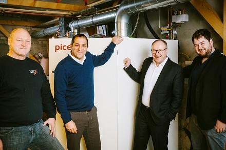 Bei Familie Lügger entsteht Wasserstoff fürs Eigenheim.