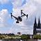 Die durch UAVs gewonnenen Daten können laut dem Deutschen Städtetag vielfältig für die Vermessungsverwaltung eingesetzt werden.