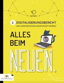 Der 2. Digitalisierungsbericht der Landesregierung Baden-Württemberg liegt vor.