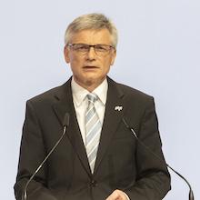 """MVV-Vorstandschef Georg Müller: """"Für die MVV bildet der Klimaschutz bereits seit Jahren die zentrale Säule unserer strategischen Ausrichtung und die Grundlage der unternehmerischen Verantwortung."""""""
