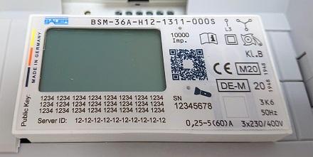 Der Energiezähler von chargeIT mobility und Gebr. Bauer ist so kompakt konzipiert, dass er problemlos in kleine Ladesysteme eingebaut werden kann.