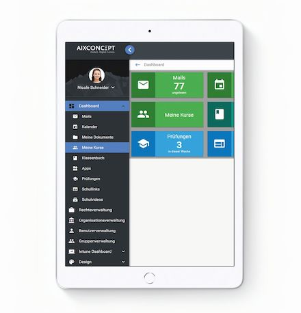 MNSpro Cloud Basic bietet die technische Möglichkeit, Unterricht auch außerhalb des Klassenraums stattfinden zu lassen.