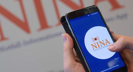 Baden-Württemberger erhalten jetzt auch über NINA Warnungen und Handlungsempfehlungen zu Corona.