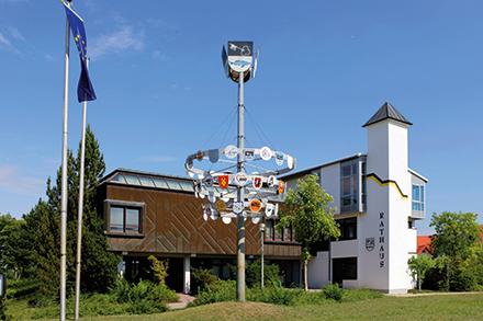 Rathaus Bobenheim-Roxheim: Zukunftsorientiert aufgestellt.