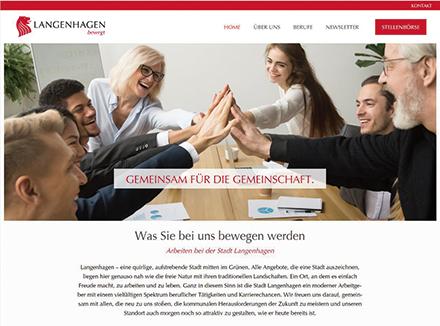 Langenhagen betreibt ein Stellen- und Karriereportal.