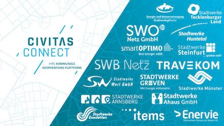 """Die für Ende März vorgesehene Gründung der Stadtwerke-Kooperation """"Civitas Connect"""" wird um drei Monate verschoben."""