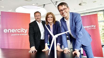 Setzt weiterhin auf erneuerbare Energien: Der Vorstand von enercity mit der Vorsitzenden Susanna Zapreva.