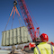 Ein tonnenschwerer Großtrafo wurde für das geplante Umspannwerk in Hannover-Anderten geliefert.