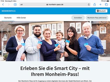 Monheim am Rhein: Smarter Pass für städtische Services