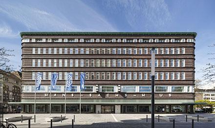 Eines der BÜRGERCenter der Stadt Gelsenkirchen befindet sich im Hans-Sachs-Haus.