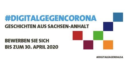 Sachsen-Anhalt sucht vor dem Hintergrund der Corona-Krise innovative digitale Lösungen.