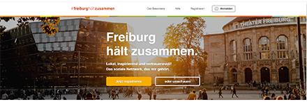 Das neue digitale Stadtnetzwerk in Freiburg im Breisgau soll unter anderem Nachbarschaftshilfe und Quartiersarbeit unterstützen.