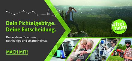 Via Online-Plattform können sich die Bürger im Kreis Wunsiedel am Projekt Smartes Fichtelgebirge beteiligen.