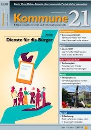 Die Mai-Ausgabe von Kommune21 kann jetzt kostenlos heruntergeladen werden.
