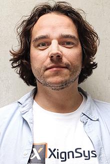 Markus Hertlein, CEO von XignSys