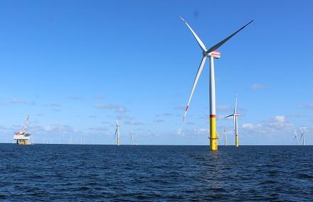 Windkraft trug in den ersten vier Monaten des Jahres 2020 zu mehr als einem Drittel des deutschen Strommixes bei.