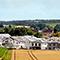 In Groß-Umstadt wurde mit Unterstützung der e-netz Südhessen im Baugebiet Umstädter Bruch eine klimafreundliche Solarsiedlung realisiert.