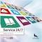Die Stadt Wolfsburg präsentiert ihre aktuelle Broschüre zu den Online-Serviceangeboten.