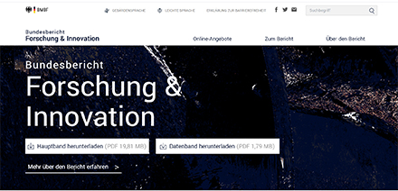 Die Website des BuFI wurde überarbeitet und nutzerzentriert weiterentwickelt.