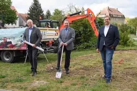 Der Ausbau für das Giganetz in der Stadt Wanzleben-Börde hat begonnen.