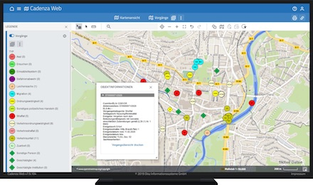 Mit der Software von Disy Informationssysteme erhält die Thüringer Polizei unter anderem ein schnelles Lagebild.