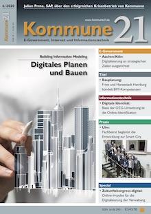 Die Juni-Ausgabe von Kommune21 kann jetzt kostenlos heruntergeladen werden.