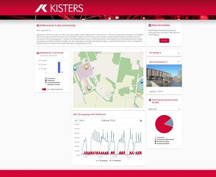 Mit der von KOS und Kisters entwickelten Regionalstromplattform können Stadtwerke ihre Kunden zu lokalen Energiegemeinschaften zusammenbringen.