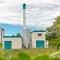 Die Rostocker Brinckmannshöhe wird in Zukunft mit Biogas aus diesem BHKW beheizt.
