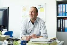 Harald Bieber leitet bei der KEA-BW das Kompetenzzentrum Kommunaler Klimaschutz.