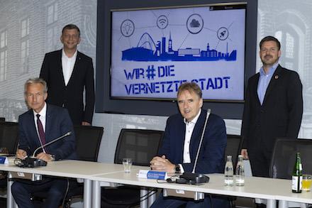 Präsentation der Digitalstrategie für die Stadt Gelsenkirchen.