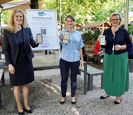 Die neue Registrierungslösung darfichrein.de wurde auf dem bayerischen Nockerberg vorgestellt.