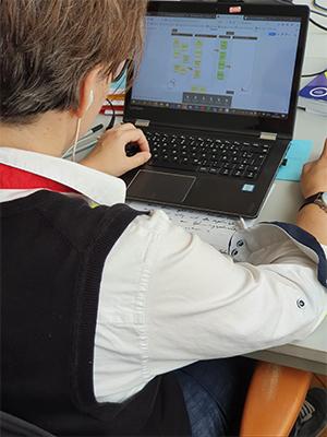 Beispielhafte Umsetzung des Meetingboards (Erläuterung für die Webinar-Teilnehmer wie das Board funktioniert) während eines Online-Meetings.