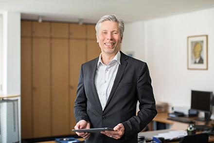 ITEBO-Geschäftsführer Bernd Landgraf.
