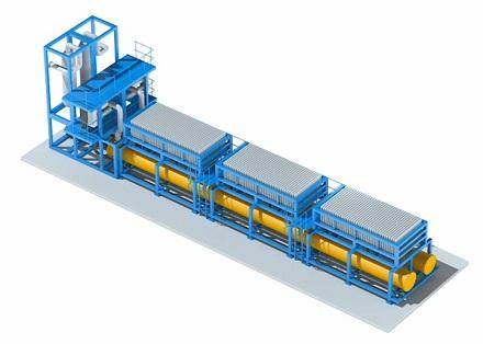 An der Carbon2Chem-Pilotanlage mit einer Leistung von bis zu zwei MW in Duisburg haben thyssenkrupp und E.ON das System erfolgreich getestet.