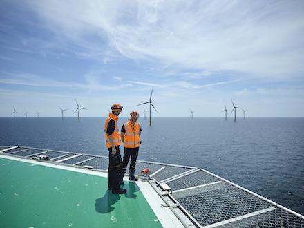 Offshore-Windpark: 50Hertz will die Stromnachfrage im Netzgebiet bis 2032 zu 100 Prozent aus erneuerbaren Energien decken.
