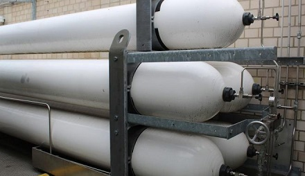 Wasserstoff wird auch in Zukunft für viele verschiedene Anwendungen komprimiert und in Stahltanks transportiert werden müssen.