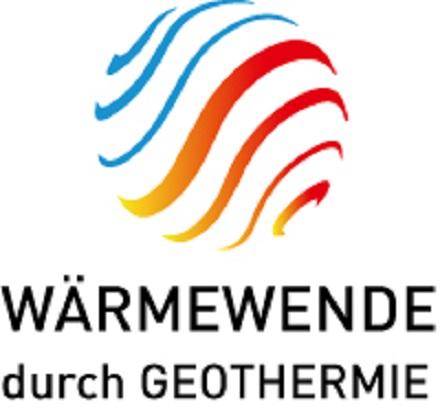 Das Logo der neuen Initiative für Geothermie.