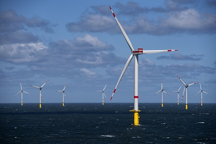 Die Wartung der  Turbinen im Trianel Windpark Borkum II wird von Siemens Gamesa für fünf Jahre übernommen.