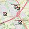Die Übersichtskarte in der Nordholz-Lösung zeigt die verfügbaren Kitas im Stadtgebiet.