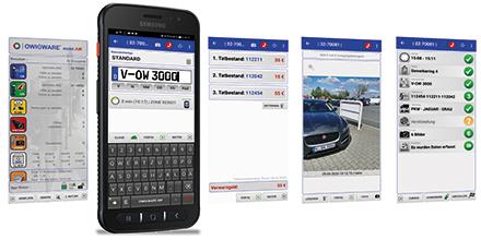 OWIGWARE mobil.AIR: Verstöße mit dem Smartphone erfassen.
