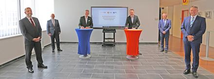 Ein neuer Handelspartnervertrag für Microsoft-Lizenzen ist zwischen dem Unternehmen SoftwareONE und KID Magdeburg geschlossen worden.