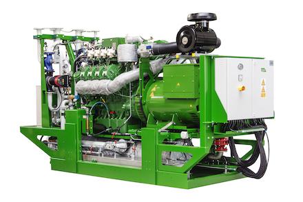 Das neue BHWK-Modul aura 408 hat eine Leistung von 280 kWel.