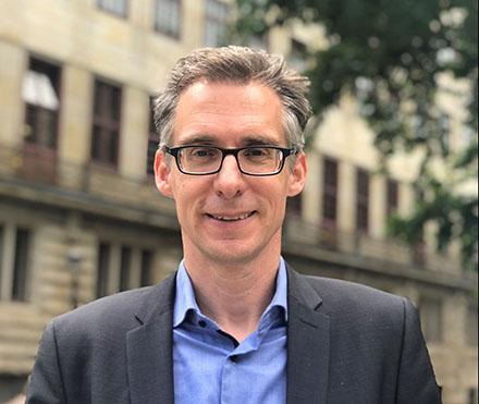 Der neue Staatsrat im Bremer Finanzressort: Dr. Martin Hagen